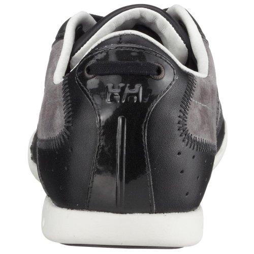 Helly Hansen - Zapatillas de vela de cuero nobuck para hombre Negro (Schwarz (Black990))