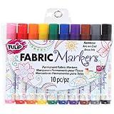 Tulip Fabric Markers 10pk Rainbow