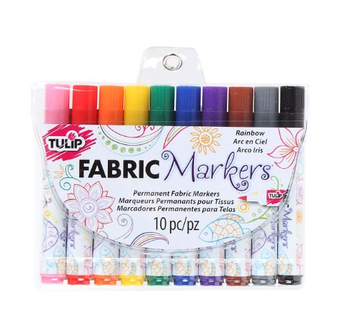 ic Brush Tip Markers, Rainbow, Set of 10 ()