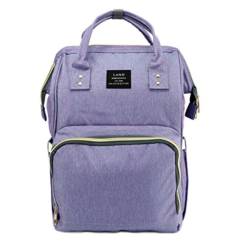 Land Baby Diaper Bag Large Capacity Mommy Backpack Baby Napp