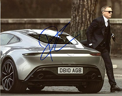 Daniel Craig SPECTRE In Person Autographed Photo by Ed Bedrick Autographs