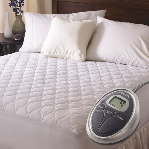 Sunbeam Waterproof Heated Mattress Pad, Twin MSU6STS-T000-12