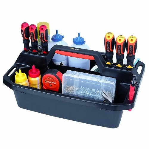 Tactix 320200 Plastic Tote Amp Caddy Tray Tool Boxes