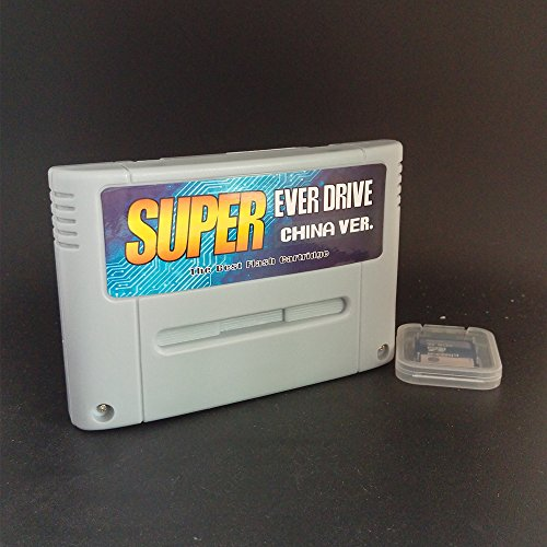 Super Everdrive China Version For SNES With 8GB SD Card Free Pre Installed a few Hundred Games
