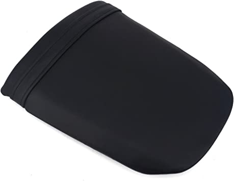 JFG RACING Black Back Motorcycle Seat Soft Comfortable Leather Rear Pad Cusion Seat Passenger Pillion For DUCATI 1098 1198 848