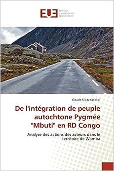 De l'intégration de peuple autochtone Pygmée
