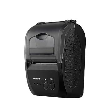 DZSF Impresora portátil portátil USB / BT4.0 de 58 mm ...