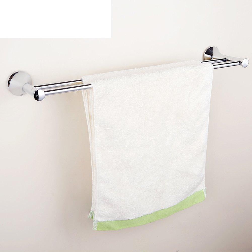 durable service Brass double bar Towel rack/bathroom hardware ...