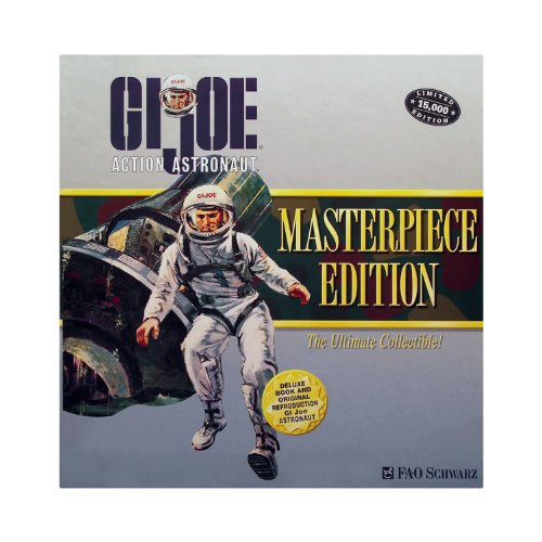 GI JOE Masterpiece Edition ACTION ASTRONAUT with Book