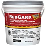 Redgard Waterproofing and Crack Prevention Membrane by Custom Building Products