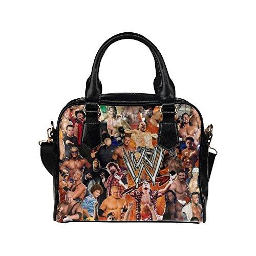 Angelinana Custom Women's Handbag WWE World Wrestling Entertainment Fashion Shoulder Bag by Angelinana