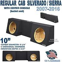 Chevy Silverado & Gmc Sierra Regular cab / single cab subwoofer box