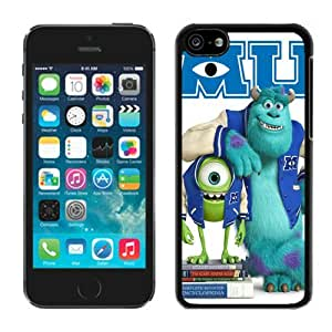 Monster University Mike and Sulley Apple iPhone 5C Case Cover #609 Black