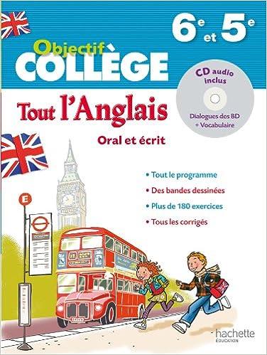 Amazon Fr Objectif College Tout L Anglais 6e 5e Daniel