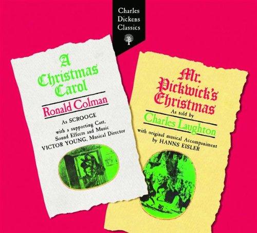 Christmas Carol & Mr Pickwick's Christmas Ronald Colman A Christmas Carol