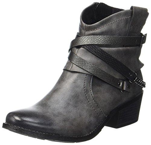Marco WoMen grey comb Grey Boots Dk 25043 Tozzi A CCqZrxp