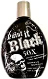 Best Bronzing Tanning Bed Lotions - Millenium Tanning New Paint It Black Auto-darkening Dark Review