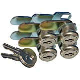 Prime Products 18-3315 7/8 Keyed Camlock- Pack of 4