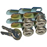 """PRIME PRODUCTS 1011.1162 18-3315 7/8"""" Keyed Camlock- Pack of 4"""
