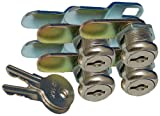 Prime Products 1011.1162 18-3315 7/8'' Keyed Camlock- Pack of 4