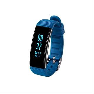 Tracker de Fitness, Montre de Fitness,Anti-perte,Compteur de Calories,Fréquence Cardiaque Smart,Tracker d'activité,Ecran LCD HD IPS pour Téléphone Andorid et fonctions partielles pour iOS Apple