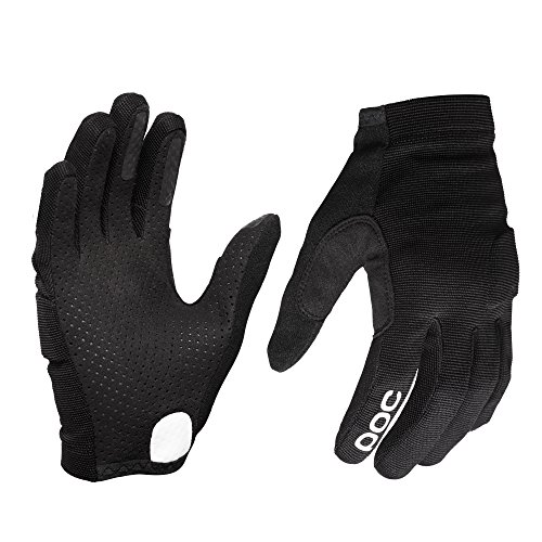 POC Essential DH Glove, Mountain Biking Gloves, Uranium Black, L