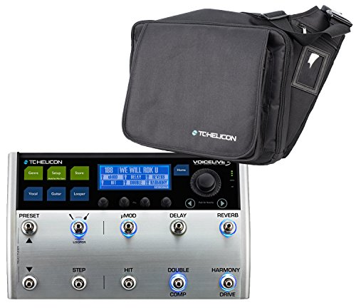 TC VoiceLive 3 with TC Helicon Gig Bag 996362005 by TC Electronic
