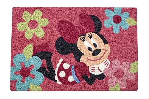 Disney Minnie Rug, Pink -