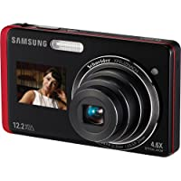 Samsung 12MP Dig Camera 4.6X Opt 3 In LCD Red Basic Intro Review Image