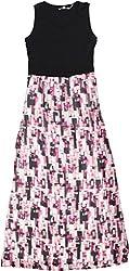Calvin Klein Women's Geometric Print Maxi Dress X-Small Multi