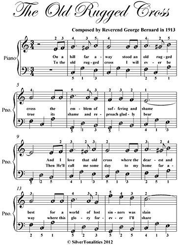 Old Rugged Cross Easy Piano Sheet Music Pdf
