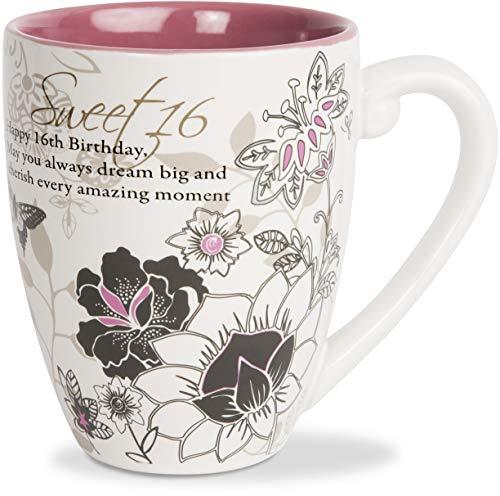 Pavilion - Sweet 16-20 oz Birthday Ceramic Coffee Cup Mug ()