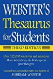 Webster's Thesaurus for Students, Third Edition