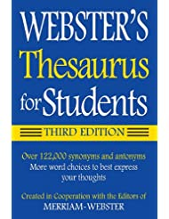 Webster\'s Thesaurus for Students, Third Edition