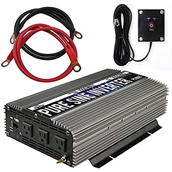 Helpful Solar Power Inverter 4000w Peak 12v Dc 110v Ac Modified Sine Wave Converter Bh Power Tools