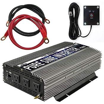 Power Tools Helpful Solar Power Inverter 4000w Peak 12v Dc 110v Ac Modified Sine Wave Converter Bh Ebay Motors