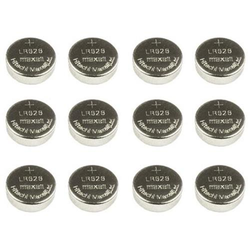 TRUGLO Replacement Batteries for Micro-Tac Tactical Micro Lasers, 1.5V-377, Silver Oxide, 12 ()
