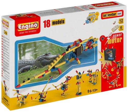 (Engino  - 18 Model Construction Set with Motor Construction Kit)