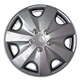 99 ford expedition rims - TuningPros WSC2-051S16 Hubcaps Wheel Skin Cover Type 2 16-Inches Silver Set of 4