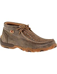 Twisted X Boots Unisex Children's YDM0030 Tall Driving Moc