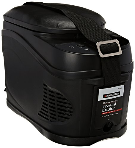 BLACK+DECKER TC204B Portable Travel Cooler/Warmer with 12V DC Power Adaptor: 8 Can, 1.6 Gallon...