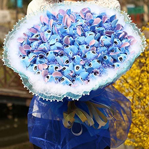 MYETO Juguete De Peluche 36 Unids Stitch Bouquet Felpa ...