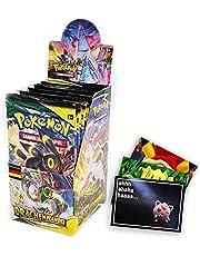 Lively Moments Pokemon zwaard & schild 18er booster display drakentransformatie OVP DE en exclusieve gratis wenskaart