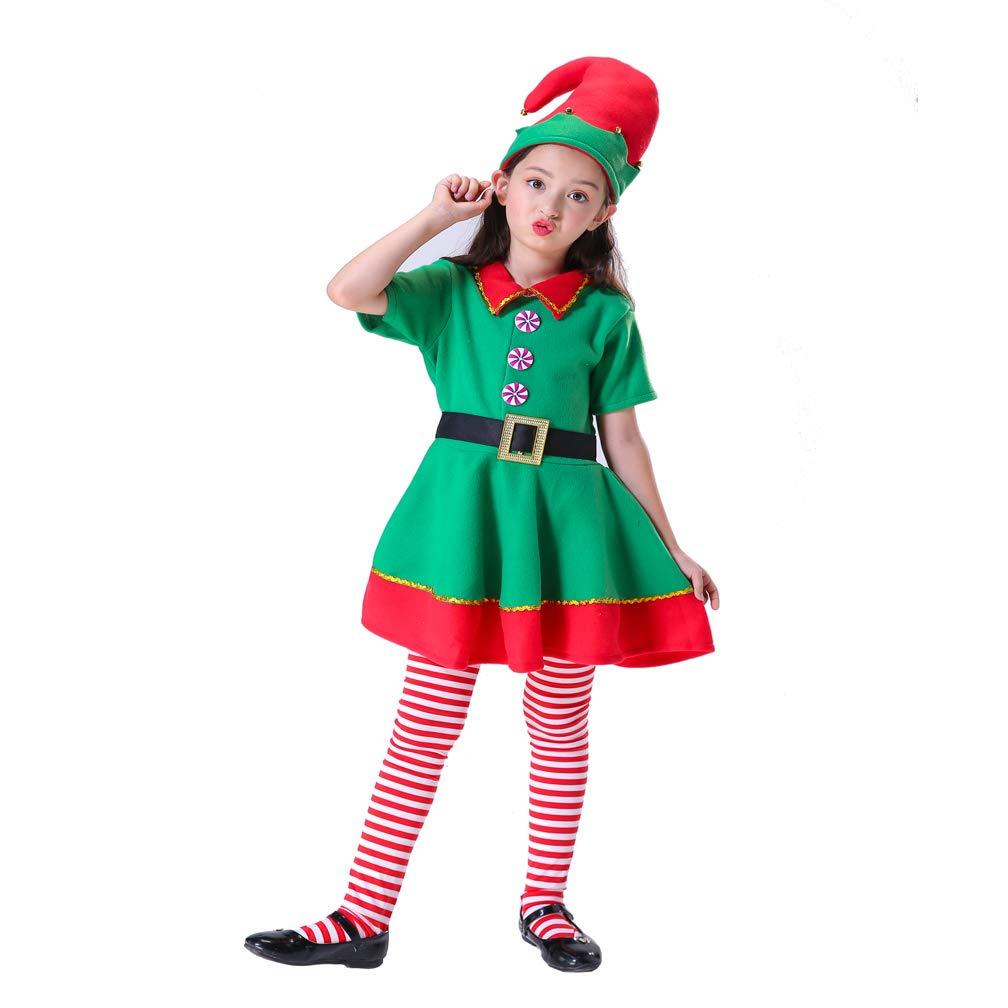 Amazon.com: Leader Jin - Disfraz de elfo para mujer y niña ...