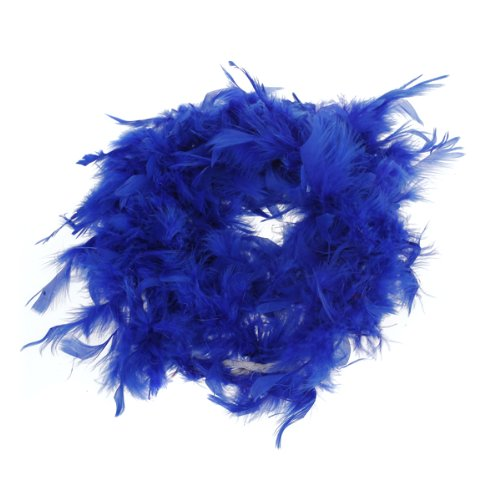 2M Boa Di Piume Di Marab¨´ Costume Per Feste Carnevale Matrimonio - Blu Generic AEQW-WER-AW131708