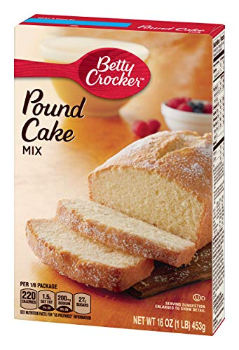 Betty Crocker Golden Pound Cake Mix - 1 Box