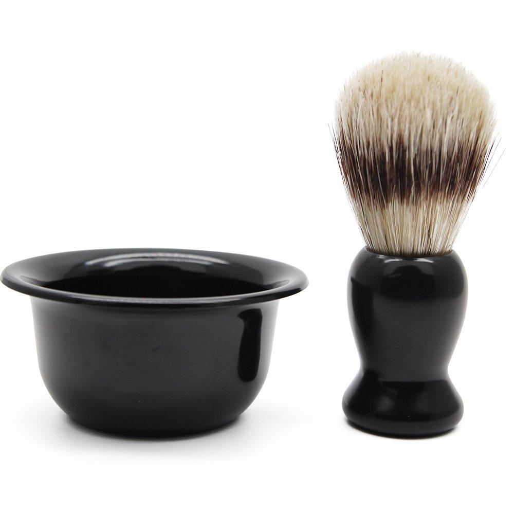 Cosprof Shaving Brush & Shaving Soap Bowl for Men Beard Cleaning Tool As Christmas Gift SAISZE