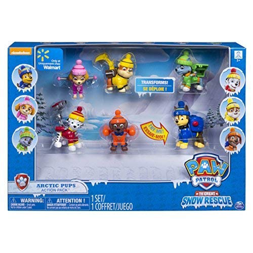 Nickelodeon Paw Patrol The Great Snow Rescue Arctic Pups (Paw Patrol Ryder Terrain Vehicle By Spin Master)
