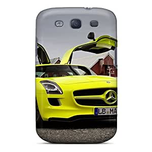 Galaxy Cover Case - Mercedes Sls E Cell Protective Case Compatibel With Galaxy S3