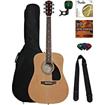 Fender Guitarra Acústica Fa-100 Beginner Pack
